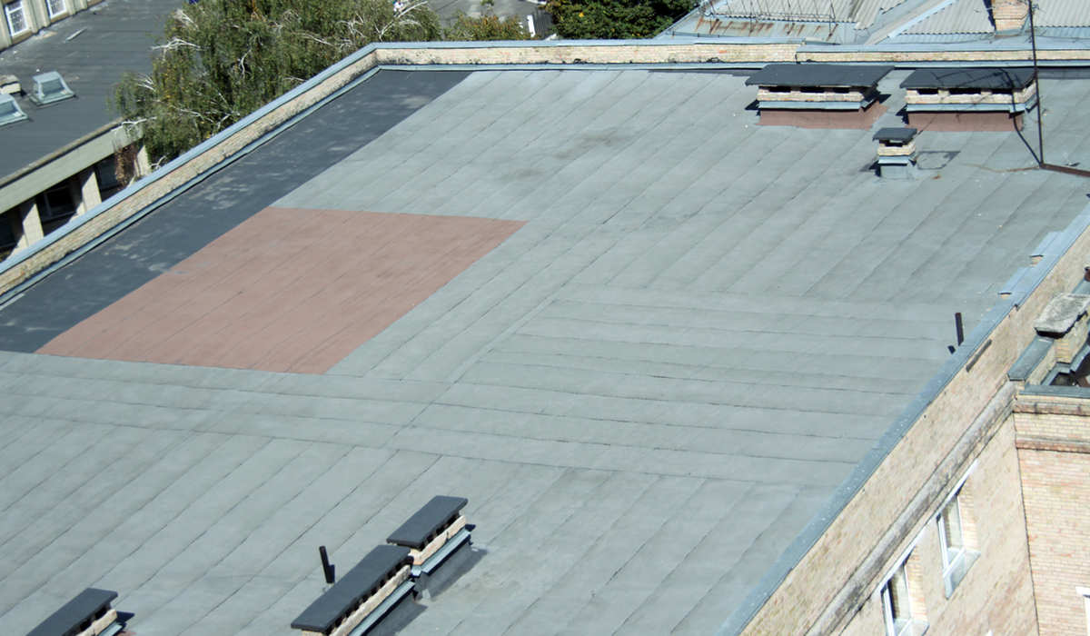 Maintenance Of The Flat Roof South Shore Roofing South