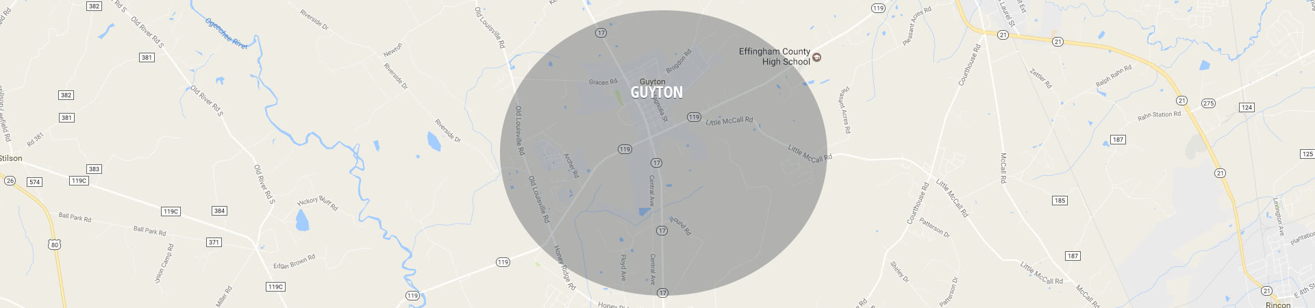 South Shore Guyton Service area