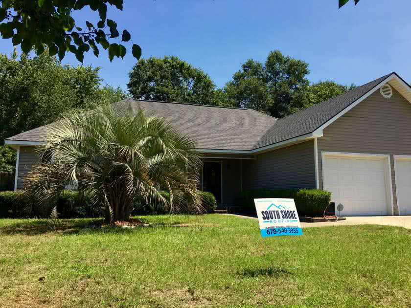 roof-installation-project-savannah south shore roofing