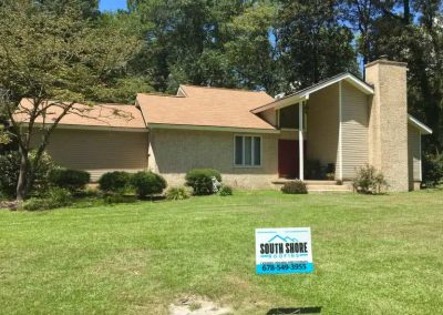 Residential Roof Project in Metter GA