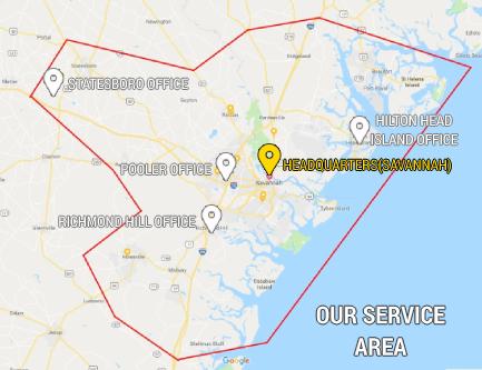 South Shore Main Service Area