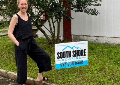South Shore Roofing happy roofing client (3)
